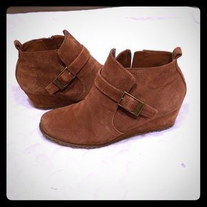 Franco Sarto Anckle swade leather booties 7.5M